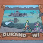 sign on wall stating durant wisconsin