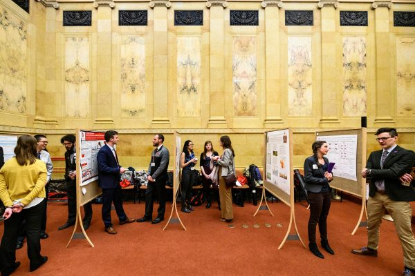 Student research at Capitol
