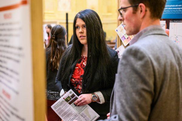 Grad presents research at Capitol